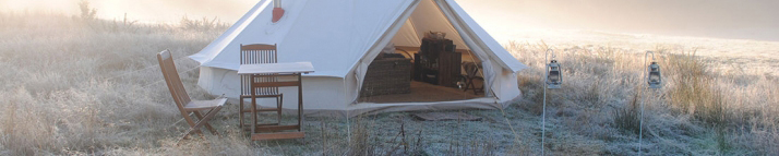 Canvas Tents and Wood Stoves